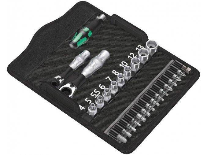 Sada bitů s ráčnou Wera Kraftform Kompakt Zyklop Mini 2  (05135918001)