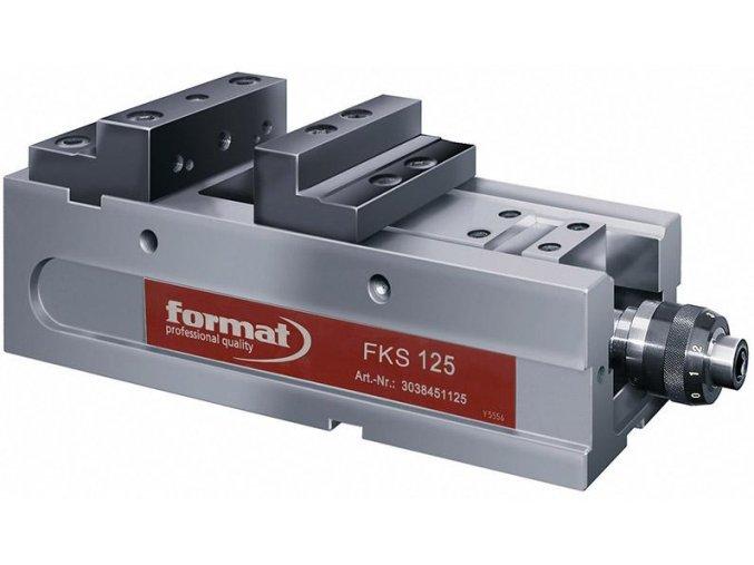 Strojní NC svěrák (kompaktni upinka) Format FKS - 125 mm