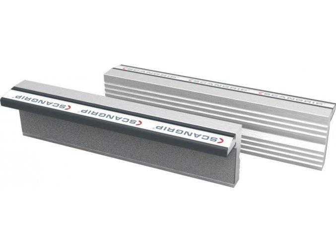 Ochranné magnetické hliníkové čelisti Scangrip - 160 mm (160N)