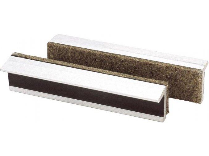 Ochranné magnetické hliníkové čelisti Scangrip s plstí - 150 mm (150TS)