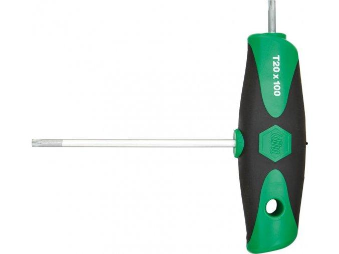 Šroubovák  Wiha Torx  s příčnou rukojetí  T20- 100 mm (26174)