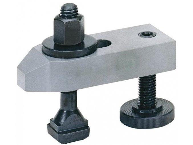 Zešikmená upínka s přestavitelným opěrným šroubem Format- M12x14