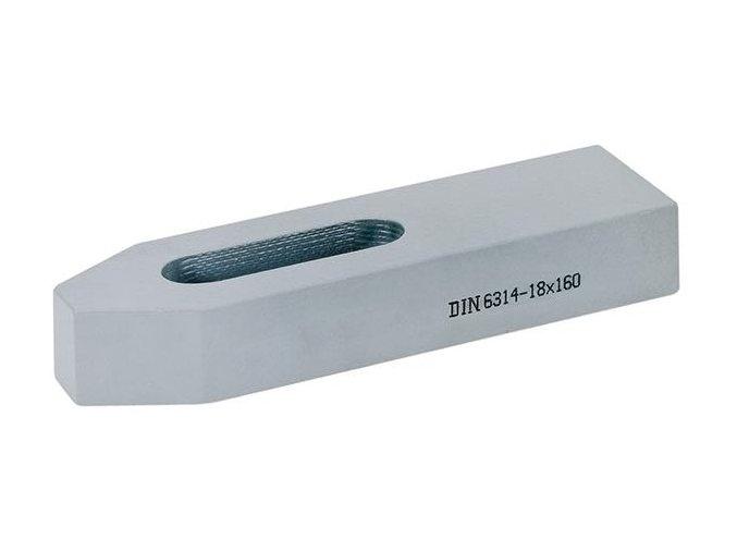 Jednoduchá upínka se šroubem Format 6314 - 18x160 mm