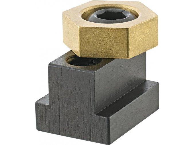 Excentrická upínací svorka s drážkovým T-kamenem IBT pro drážku 16 mm (50430)