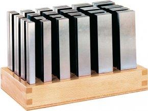 Sada přesných paralelních podložek Format 125B (8-42 mm)