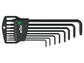 Sada úhlových šroubováků s kulovou hlavou Wiha Torx  T9-T45 (32394)