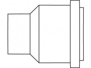 Náhradní opalovací tryska na plamen pro Ersa Independent 75  (0G072BE/SB)