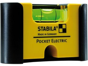 Vodováha mini Stabila Pocket Electric- 7 cm (18115)