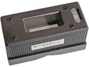 Strojní křižová vodováha Roeckle 60 mm - přesnost 0,2mm/m (4321/60)