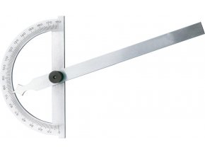 Kovový úhloměr Format  0°-180° - 500 mm