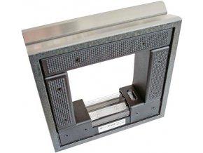 Strojní rámová vodováha Roeckle 200 mm - přesnost 0,1mm/m (4221/200)