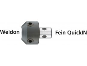 Adaptér Alfra pro jádrové vrtáky se stopkou Weldon na systém FEIN-QuickIN (20204)