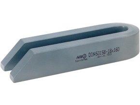 Vidlicová upínka zešikmená AMF DIN 6315B- 22x250 mm (70565)