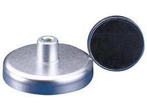 Magnetické ploché chapadlo Format se závitem M10 - Ø80 mm