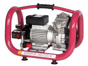 Bezolejový pístový kompresor ELMAG Superfox 240/10/5 W