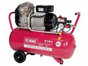 Bezolejový pístový kompresor ELMAG Superfox 240/10/30 W