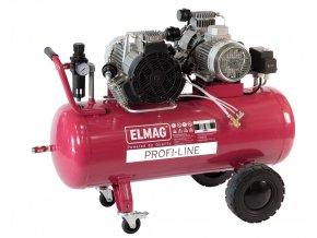 Bezolejový pístový kompresor ELMAG Profi-Line 660/10/100 D