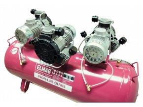 Bezolejový pístový kompresor ELMAG Profi-Line 990/10/200 D