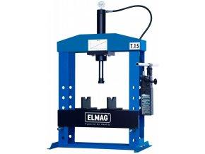 Stolní hydraulický lis Elmag WPMH 15/2-T