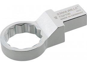 Nástrčný očkový klíč Stahlwille 732/100 - 27mm  (58221027)