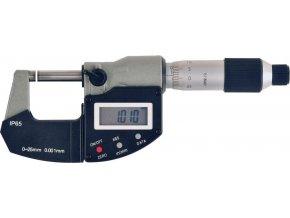 Digitální mikrometr Format 0-25 mm  DIN 863-1, IP65