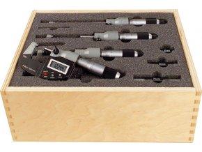 Sada digitálních mikrometrů Format 0-100 mm  DIN 863-1, IP65