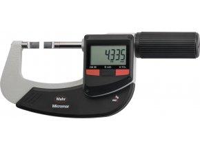 Digitální mikrometr Mahr 25-50 mm EWR-S na měření vnějších drážek (4157142)