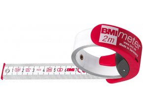 Kapesní svinovací metr BMI 2m x 16mm bílý (429241021)