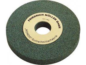 Brusný kotouč Müller s vybráním 300 x 40 x 76 - K80 (karbid křemíku-zelený)