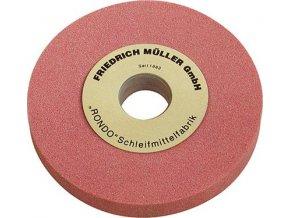 Brusný kotouč Müller 200 x 25 x 32/20 - K60 (ušlechtilý korund-růžový)