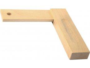 Truhlářský dřevěný úhelník Fortis - 350 mm