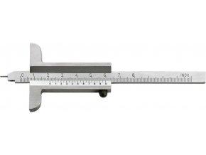Hloubkoměr s měřícím kolíkem Fortis 1/50 - 80mm