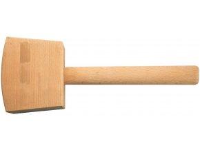 Dřevěná palice Fortis DIN 7461 - 160 mm