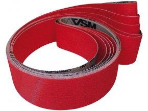 Brusný tkaninový pás keramika VSM XK870X  25x760 mm - K80