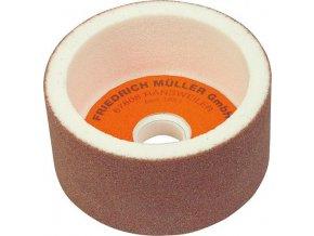Hrncový brusný kotouč Müller 100x50x20 mm  - K80 (korund bílý)