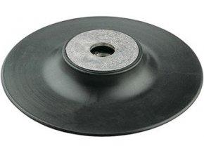 Opěrný pryžový talíř Format  M14 x 125 mm