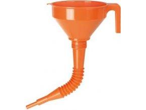 Plastový trychtýř Pressol s výlevkou 02674 - 160 mm