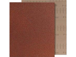 Brusný arch tkanina Fortis 230x280mm - K120