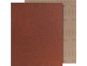 Brusný arch tkanina Fortis 230x280mm - K180