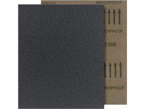 Brusný arch voděodolný Fortis 230x280mm - K400