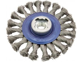 Kotoučový kartáč Osborn ocelový, copánkový 115x22,23 mm