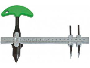 Kotoučový vykrajovač TURNUS 2 nože 40-200mm
