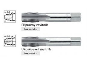 """Sada ručních závitníků Format G  DIN352  G1/8"""""""