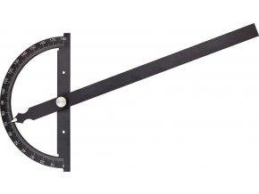 Kovový úhloměr Fortis 0°-180°  - 150/200 mm