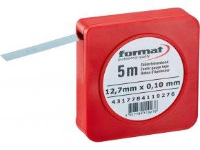 Spárová měrka Format v pásu, pružinová ocel - 0,30mm