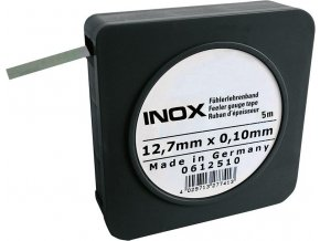 Spárová měrka Format v pásu, INOX - 0,03mm