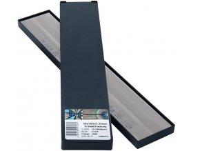 Kovová fólie H+S INOX v deskách 10Bl/P  50x300x0,40mm