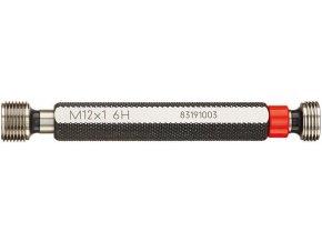Mezní závitový kalibr JBO s jemným stoupáním trn 6H - M12x1,5 (511716)