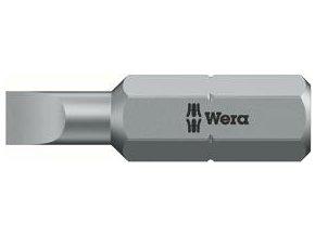 """Bit plochý Wera tvrdý typ 1/4"""" DIN 3126 C 6,3 - 3x0,5x25mm (05056200001)"""