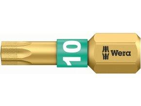"""Bit TORX Diamant Wera 1/4"""" DIN 3126 C 6,3 - T10x25mm (05066100001)"""